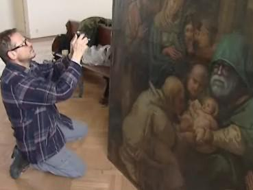 Vzácný obraz pomohou restaurovat i studenti