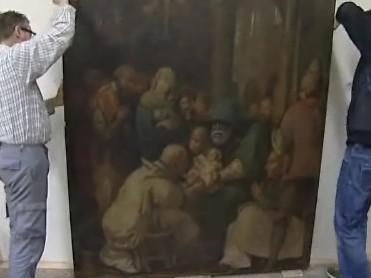 S restaurováním vzácného obrazu pomohou studenti