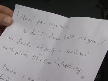 Rezignace Kvapila