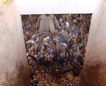 Odpadky ve spalovně