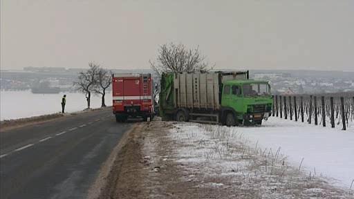 Havárie u Velkých Pavlovic