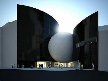 Studie futuristického hotelu Sono centrum