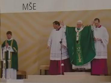 Návštěva papeže Benedikta XVI.