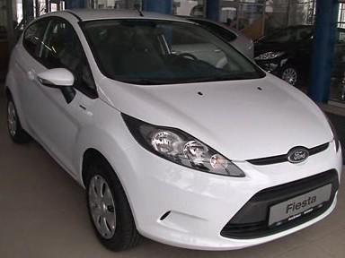 Darovaný Ford Fiesta