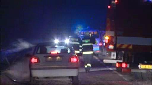 Na Zlínsku havaroval vůz hasičů