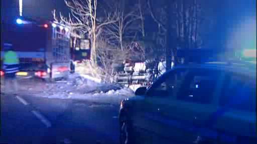 Havárie hasičského vozu
