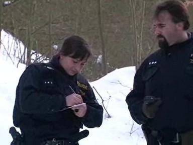 Policie kontroluje chaty