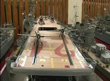 Model bitevní lodi