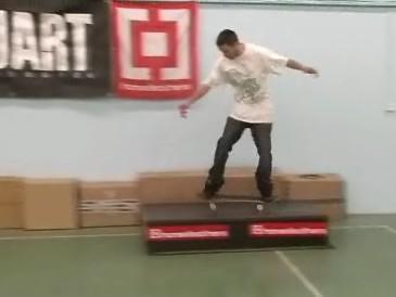 skateová hala v Brně