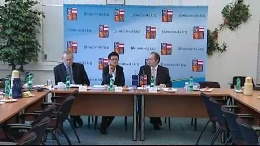 Tisková konference hejtmana Michala Haška