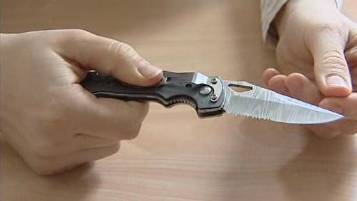 Nůž, který pomohl odhalení pachatele