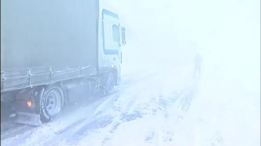 doprava a sníh