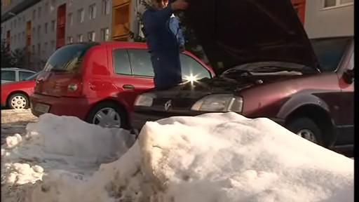parkování v Kohoutovicích