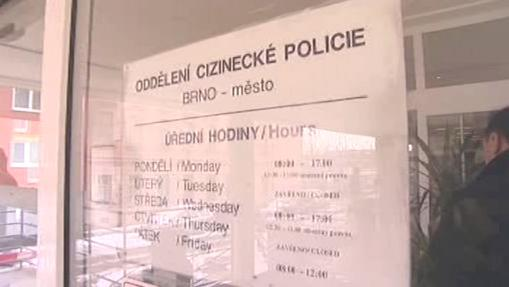 Cizinecká policie Brno