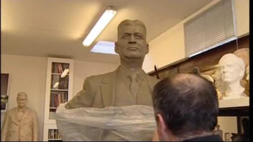 Model sochy Tomáše Bati