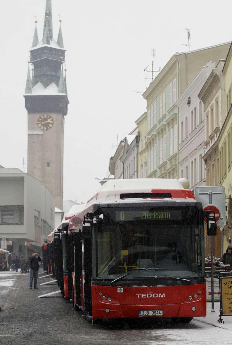 Nízkopodlažní autobusy