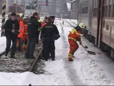 Nehoda na nádraží