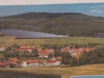 Solární elektrárna v Šebrově