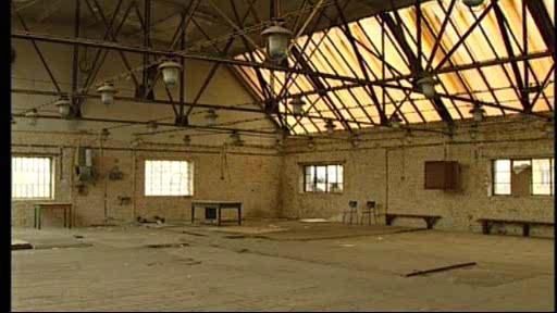 Interiér areálu Vaňkovky před rekonstrukcí
