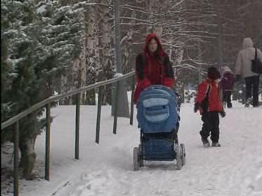 Na jižní Moravě a ve Zlínském kraji už jsou silnice sjízdné