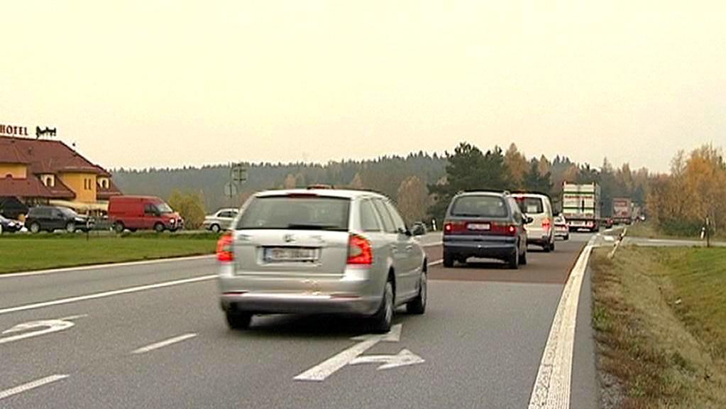 Nebezpečná křižovatka na Jihlavsku