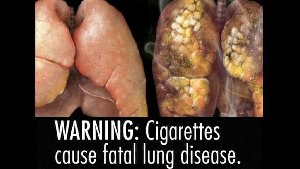 Varování před škodlivostí kouření