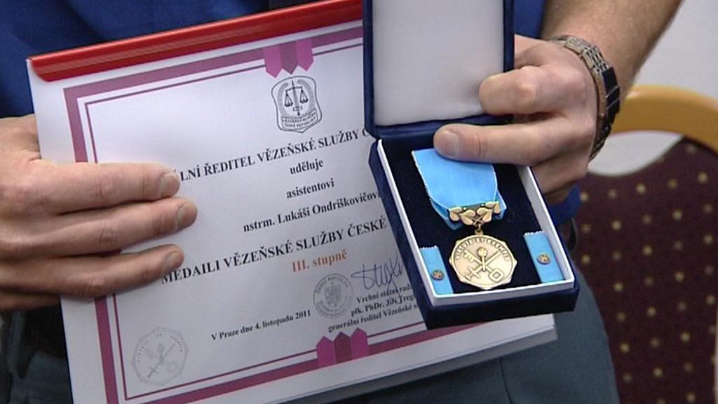 Vyznamenání od ministra spravedlnosti