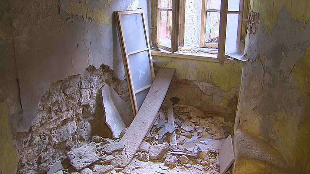 Interiér domu Mikuláše Dačického z Heslova