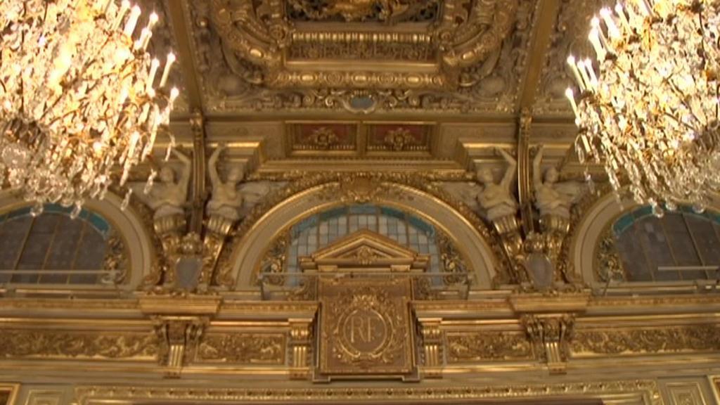 Interiér Elysejského paláce