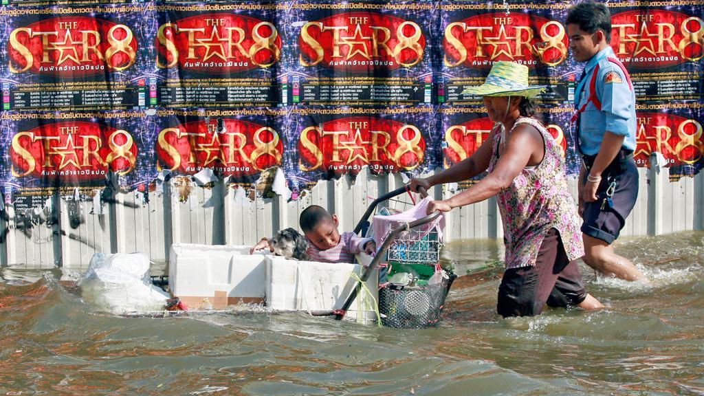 Záplavy v thajském Bangkoku