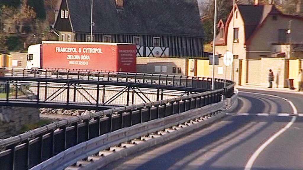 Nová silnice v Chrastavě
