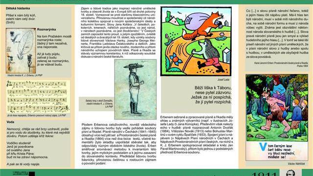 Výstava o K. J. Erbenovi v projektu Literatura ke stažení