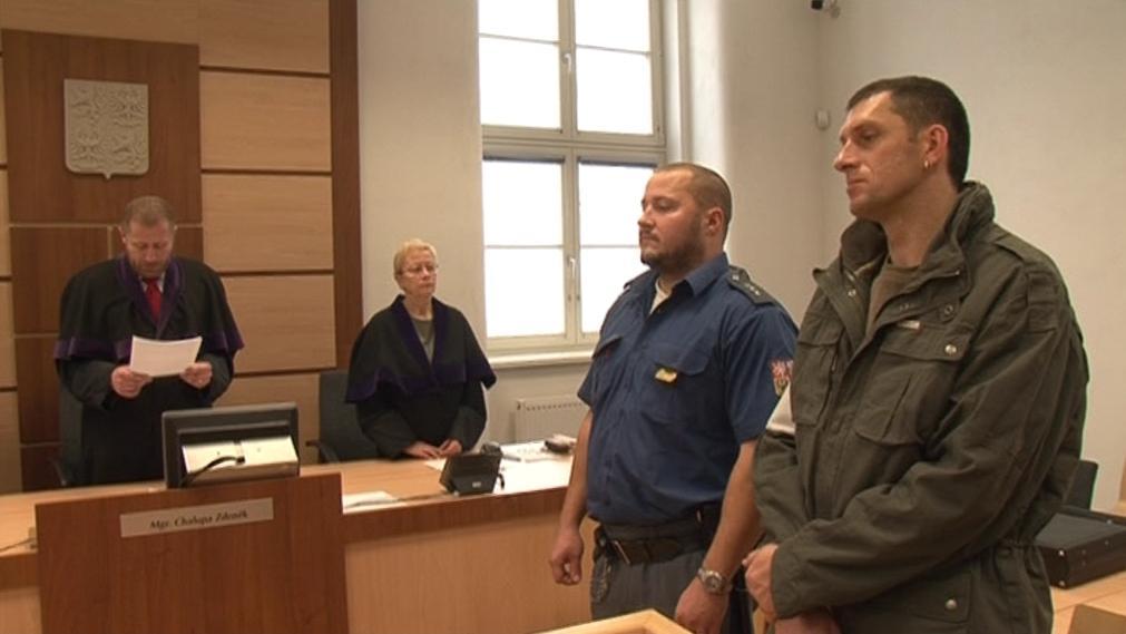 Roman Motičák u soudu