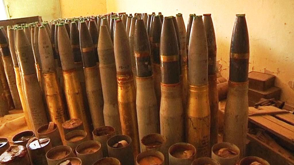 Opuštěné libyjské zbraně