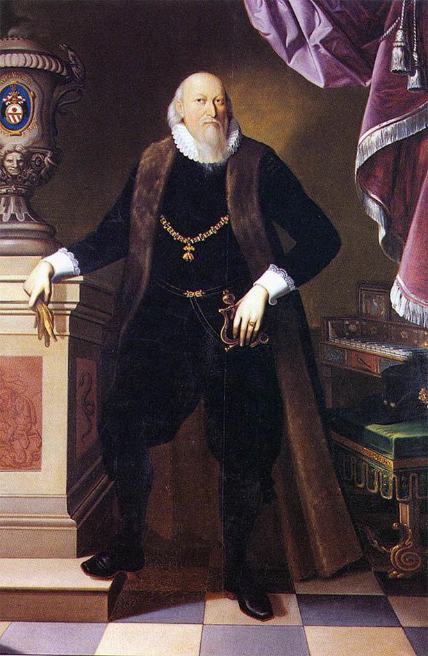 Portrét Petra Voka z Rožmberka