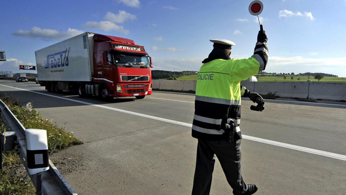 Kontroly kamionů