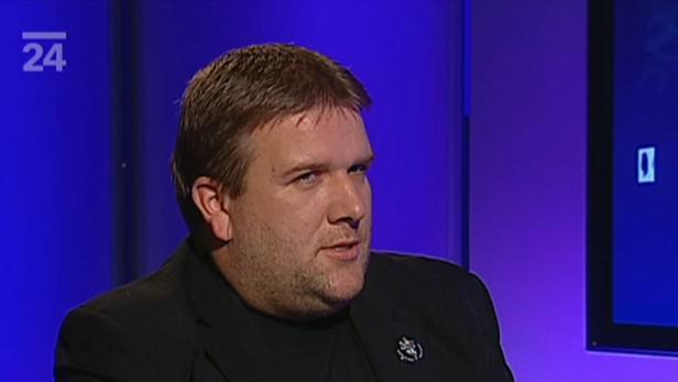 Martin Formánek, učitel dějepisu z Gymnázia Jižní Město