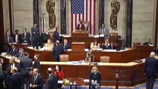 Zasedání americké Sněmovny reprezentantů