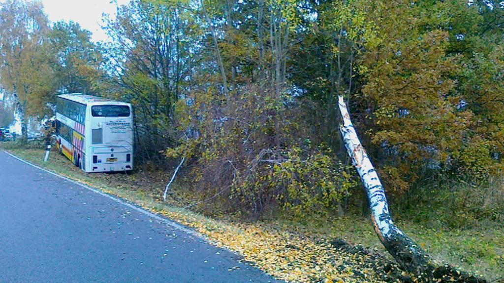 Havárie autobusu na Písecku