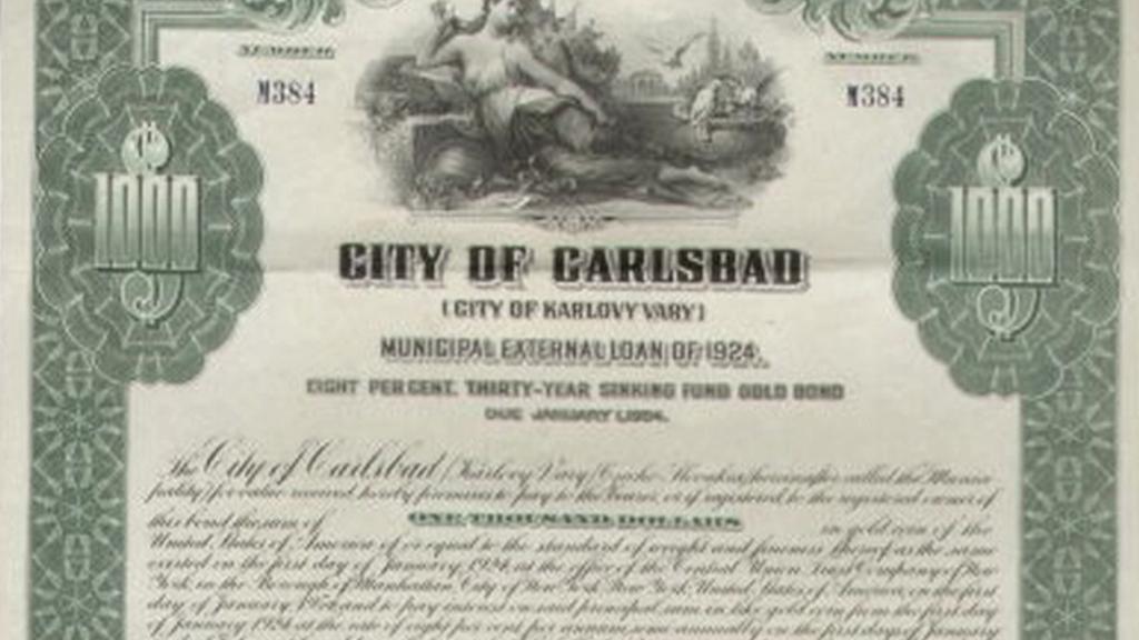 Karlovarský dluhopis