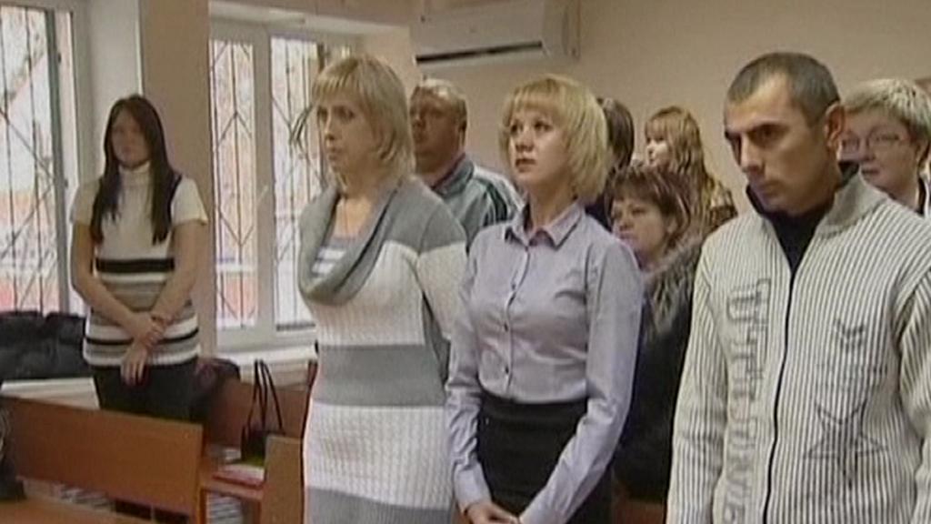 Rodiče zaměněných dětí u soudu