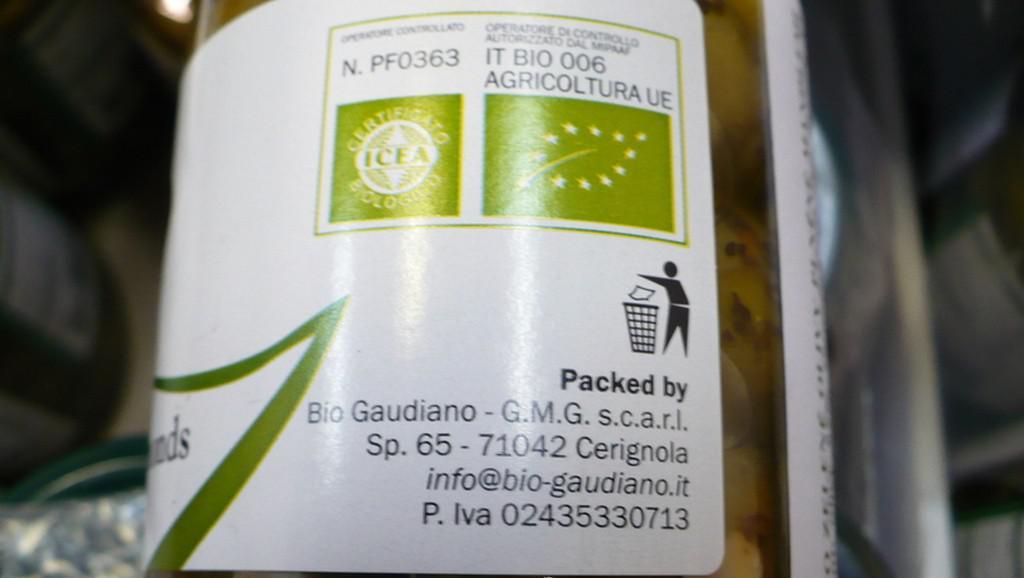 Nebezpečné bio olivy