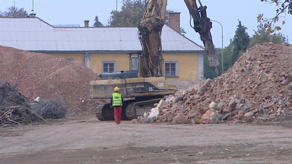 Demolice v Jičíně