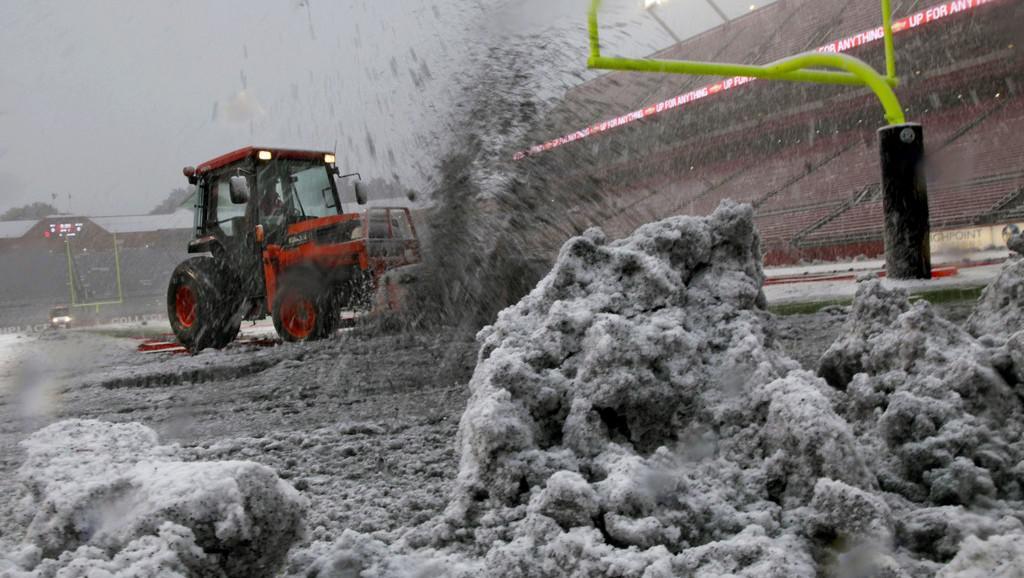 USA zasáhla sněhová bouře