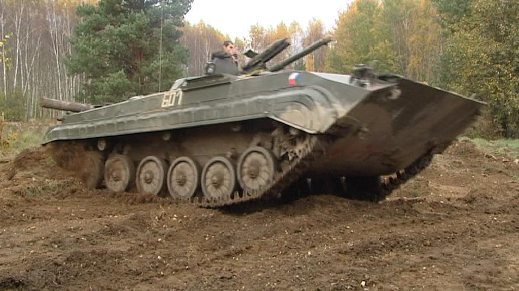 Tank na Plachtě