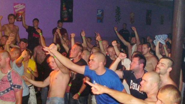 Koncert pravicových extremistů