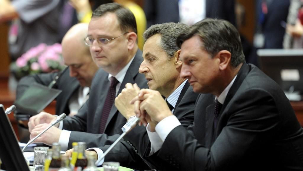 Nečas na summitu EU