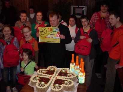 Z oslav 10. narozenin Klubu Čtyřlístek