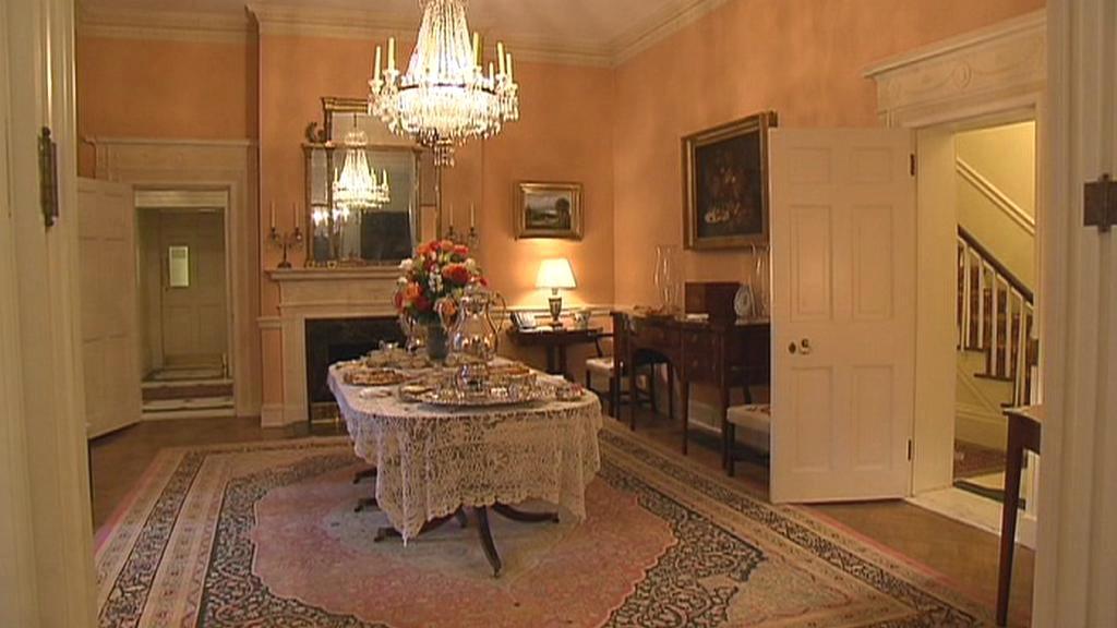 Premiér Nečas byl ubytován ve slavném Blair House