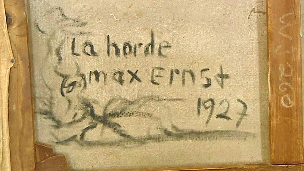 Padělaný obraz Maxe Ernsta